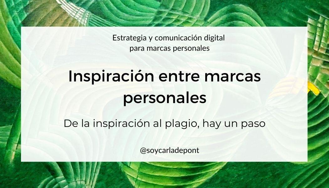 Inspiración entre marcas personales